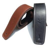 Tracolla per Chitarra in Pelle Accessori per Cinturini Bassi Regolabili V6P9