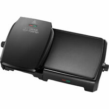 George Foreman 23450 Grill and Griddle - Black