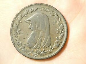 1789 DRUID One Penny Token Condor  #TT117