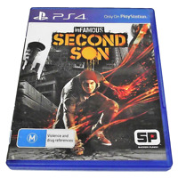 inFamous Second Son Sony PS4 Playstation 4
