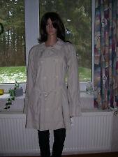 Ralph Lauren leichte Jacke Trenchcoat beige hell mit Gürtel Größe L neu