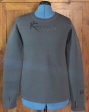 Kutting Weight Sauna Shirt Neoprene Gray Women's Size XL