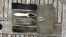 Dutch army boot cleaning kit, cadets, security,hill walking