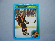 1979/80 TOPPS NHL HOCKEY CARD #117 CURT FRASER ROOKIE NM SHARP!! 79/80 TOPPS