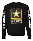 US ARMY Sweater USA American Military Star Logo Army strong Sweatshirt gift