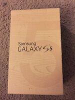 Samsung Galaxy S5 Empty Box - No accessories or phone
