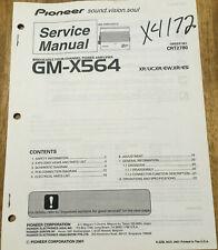PIONEER GM-X564 POWER AMPLIFIER ORIGINAL SERVICE REPAIR MANUAL