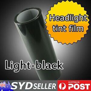 0.3 x 6M Smoke Light Black Headlight Tint Film Fog Tail light Lamp Decal Sticker