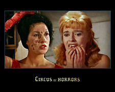 Yvonne Monlaur and Yvonne Romain UNSIGNED photo - H7887 - Circus of Horrors