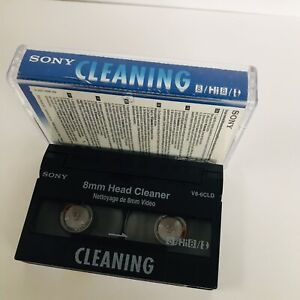 SONY 8mm/Hi8/Digital8 Camcorder Head Cleaner/Cleaning tap, Cassette V8-6CLD