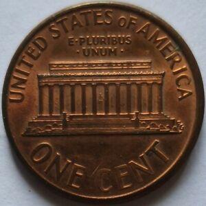 USA 1992 1 cent D coin