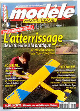 b)Modèle Mag n°627 du 12/2003; Plan encarté Micromix/ Dossier Atterrissage/ Spit
