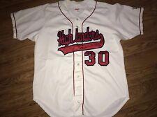 Wilson Radford Highlanders Baseball #30 Button Up Game Worn Jersey Size 48