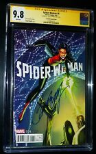 SPIDER-WOMAN #6 Signature Series Campbell Variant Cover 2016 CGC 9.8 NM/MT