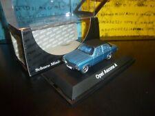 1/43 Schuco Opel Ascona A 4p 1970-1975 azzurro light blue blau bleu