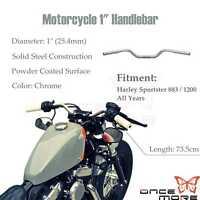 22 mm Manillar de Arrastre Universal para Harley Sportster XL 883 1200 Bobber Custom Chopper Softail Dyna Euro Style JFG RACING
