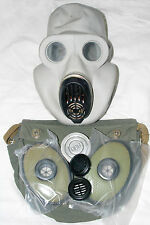 GAS MASK PBF Soviet Original Military Grey rubber  FULL SET