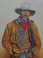 """Western Artist Ken Schmidt Cowboy-Ranch Hand """"Still A Few Left""""  print AP#13"""