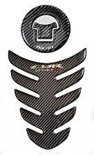 Honda CBR 250R Real Carbon Fiber tank Protector pad & fuel cap cover trim guard