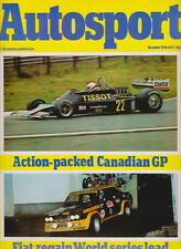 Autosport 13 Oct 1977 - Canadian Grand Prix, San Remo Rally, Bathurst 1000 Ford