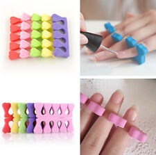 Nail Art Salon Pedicure Manicure Tool Sponge Foam Finger Toe Separator 10x HS9