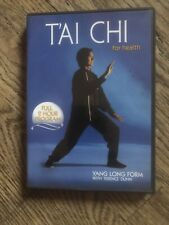Tai Chi for Health DVD Yang Long Form Terence Dunn Asian Fitness Workout