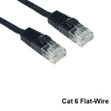 Kentek 5' CAT6 UTP Flat-Wire Patch Cable 32AWG 550MHz UltraFlat Network Internet