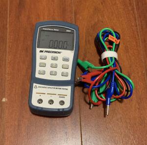 BK Precision 890C Dual-Display Handheld Capacitance Meter