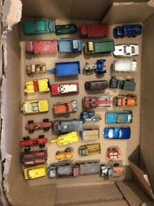 Matchbox Lesney - Mega lot of 36 Regular wheels