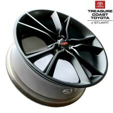 NEW OEM  TOYOTA 86 & SCION FR-S 18'' TRD MATTE BLACK ALLOY WHEELS 4-PIECE SET