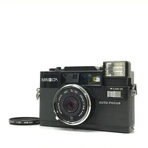 Minolta Hi-matic AF-D Black Point & Shoot Film Camera AS-IS TK06O