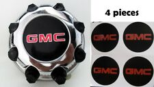 4pc GMC Sierra 99-10 Hub Wheel Cap Decals 1500 2500 Truck Center Stickers Yukon