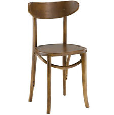 LexMod Skate Dining Side Chair, Walnut EEI-1542-WAL Chair NEW