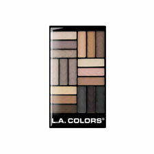 L.A. COLORS 18 Color Eyeshadow - Downtown Brown (Free Ship)