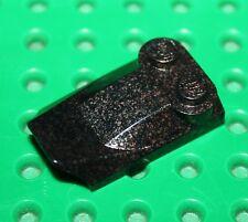 LEGO Speckle Black-Silver Slope Curved ref 47456/set 8705 8702 7037 7041