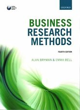 Business Research Methods by Bell, Emma