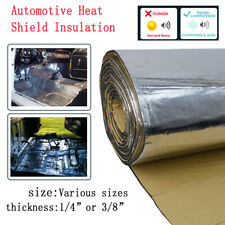 Heat Shield Insulation Thermal Sound Barrier Material Deadener Noise Damping