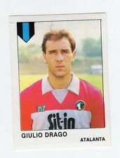 figurina CALCIATORI CALCIO FLASH 1985 NUMERO 27 ATALANTA DRAGO