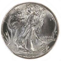 1939 Walking Liberty 50C PCGS Certified MS67 US Mint Silver Half Dollar Coin PQ