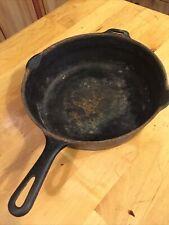 "Vintage Griswold cast iron  # 8 10 1/2 inch chicken fryer 3"" Deep"