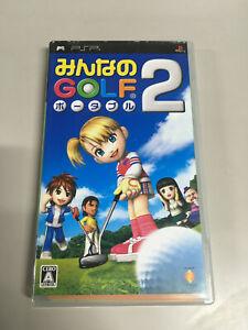 Minna no Golf Portable 2 [ PlayStation Portable ] Japan Import