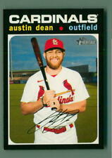 2020 Topps Heritage High Number #579 Austin Dean - St. Louis Cardinals