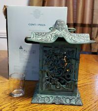 Partylite Ivy Garden Lantern Cast Iron P0323