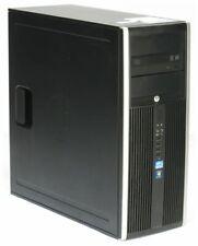HP Elite 8300 CMT Quad Core i5 3570 @ 3,4GHz 4GB 250GB DVD Tower PC