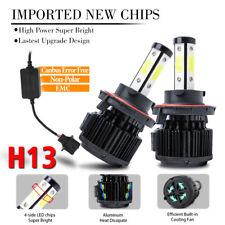 H13 9008 4side LED Headlight Bulb HI LOW BEAM Super Bright 1800W 270000LM CANBus