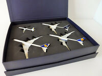 LUFTHANSA Set 4in1 Boeing 747-8 Airbus A321 1/500 Herpa 531313 EXCLUSIVE-SET