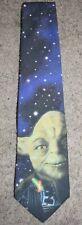 Ralph Marlin Star Wars Yoda Video Art Vintage Novelty Tie Necktie