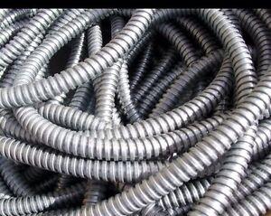 Kopex Metallic/Metal/Steel Conduit Cable Pipe/Tubing/Tube. 25mm Copex Per Meter