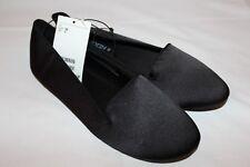 Original & NEU H&M Ballerinas Loafer Mokassins schwarz 38 Satin glänzend