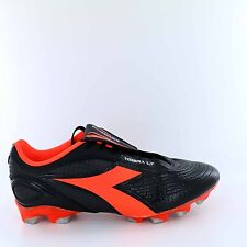 Men's Diadora Kobra Plus LT BX14 Soccer Cleats - Black/Red - NIB!